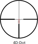 Kahles 4D Dot Reticle