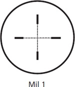 Kahles Mil 1 Reticle