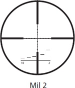 Kahles Mil 2 Reticle